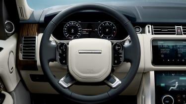 MY18 Range Rover - steering wheel