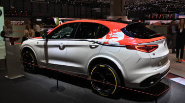 'Alfa Romeo Racing' Giulia and Stelvio