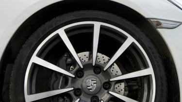 2013 Porsche Cayman alloy wheel