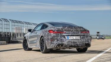 BMW M8 Competition prototype - rear quarter