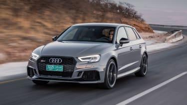 Audi RS3 Sportback Grey front 4