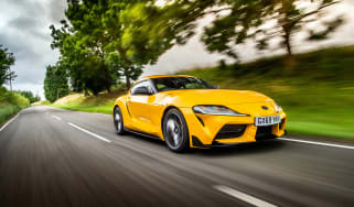 Toyota GR Supra review FF - tracking