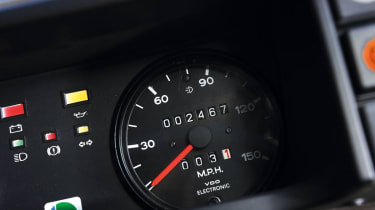 MG Metro 6R4 Clubman speedometer
