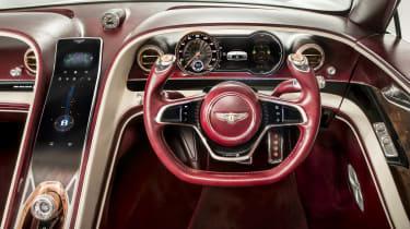 Bentley EXP12 Speed 6e - Steering wheel