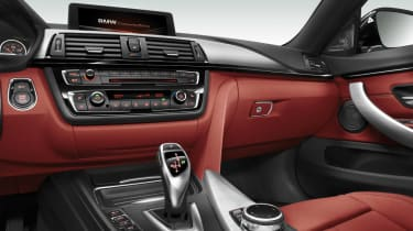 BMW 4-Series Gran Coupe interior