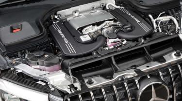 Mercedes-AMG GLC 63 Edition 1 - engine