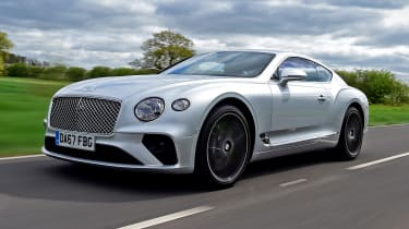 Bentley Continental GT review – silver tracking