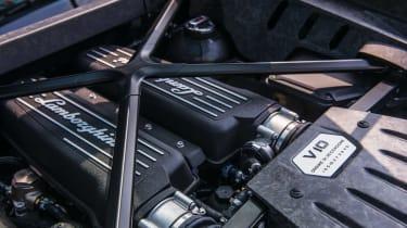 Lamborghini Huracan LP 610-4 engine bay