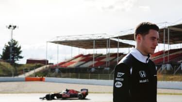 McLaren's new driver 2017
