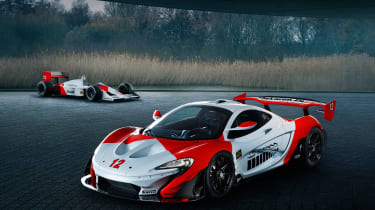 McLaren P1 GTR MSO - front quarter