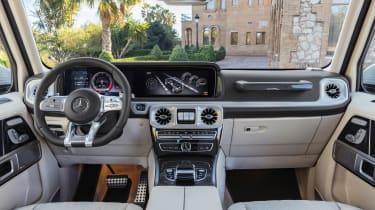 Mercedes-AMG G63 – interior