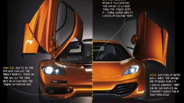 McLaren MP4-12C review countdown: McLaren F1 v MP4-12C