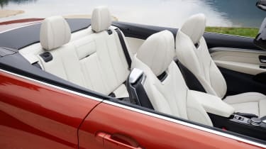 2017 BMW 4 Series Convertible - Seats