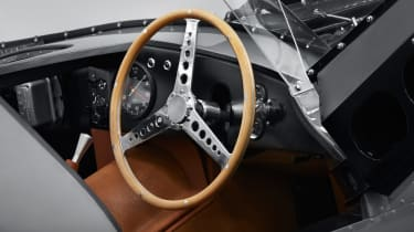 Jaguar D-Type – steering-wheel