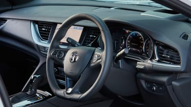 Vauxhall Insignia GSi – steering wheel