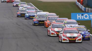 British Touring Cars Donington Park 2013