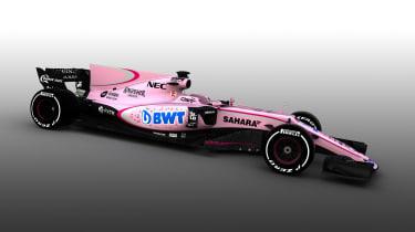 2017 Force india F1