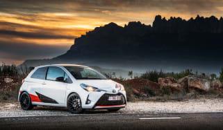 Toyota Yaris GRMN – front quarter