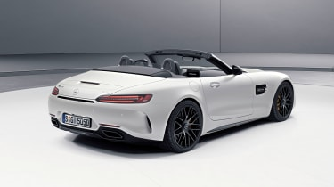 Mercedes-AMG GT C Roadster Edition 50 - rear three-quarter