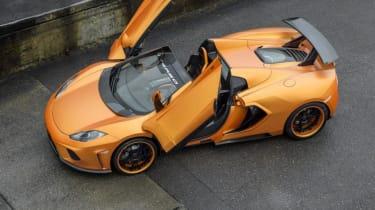 FAB Design Terso McLaren 12C Spider roof open doors open