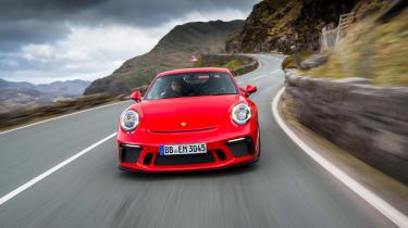 Porsche 911 GT3 - front