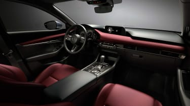 Mazda 3 hatch revealed - interior
