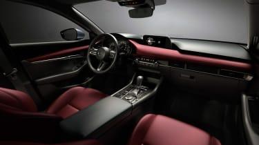 Mazda 3 hatch revealed - interior