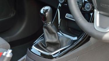 2013 Ford Fiesta 1.0 Ecoboost Zetec S manual gearstick