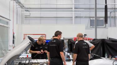 Jaguar Land Rover Classic Works - Team