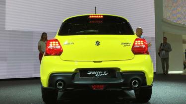 Suzuki Swift Sport frankfurt motor show rear