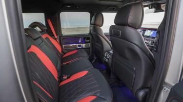 Mercedes-AMG G63 rear seats