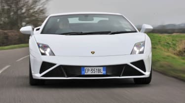 2013 Lamborghini Gallardo LP560-4 white