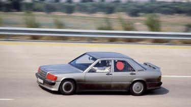 Mercedes-Benz 190 Cossie - speed