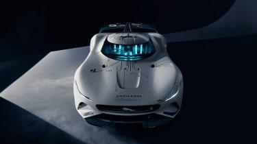 Jaguar Vision Gran Turismo SV Concept - nose