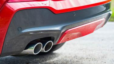 BMW X4 xDrive30d - Exhaust