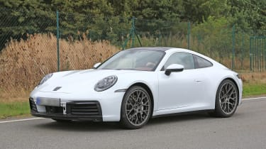 992 Porsche 911 spied - front quarter