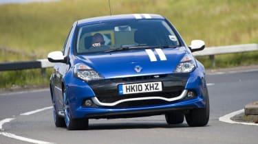 Renault Clio Gordini blue and white