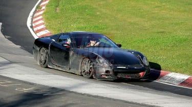Ferrari spy image
