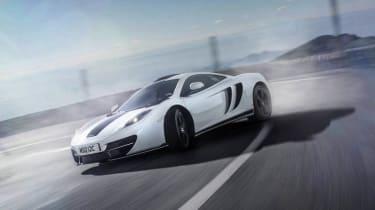 McLaren 12C MSO Concept white