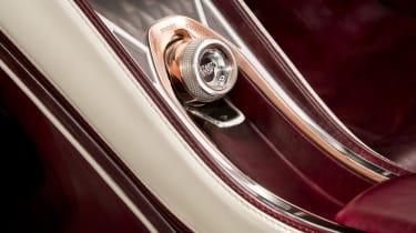 Bentley EXP12 Speed 6e - Interior detail