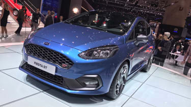 Ford Fiesta ST Geneva front three quarter