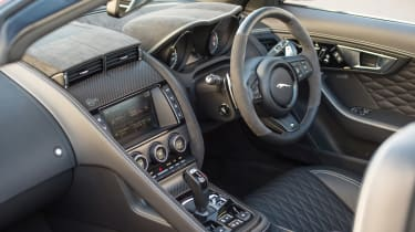 Jaguar F-Type SVR Convertible - interior
