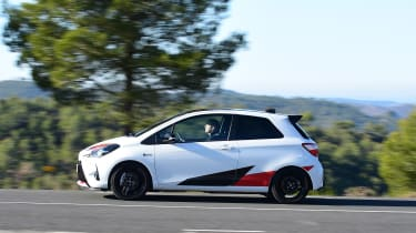 Toyota Yaris GRMN - profile