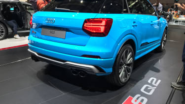Audi SQ2 Paris motor show - rear