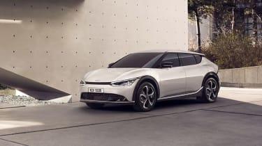 Kia EV6 revealed - front