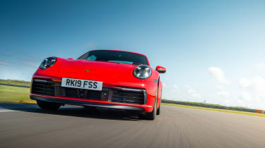 Porsche 911 Carrera S track nose