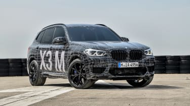BMW X3 M and X4 M prototypes - static