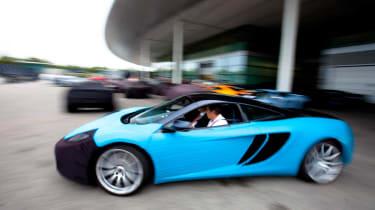 McLaren tweaks the MP4-12C supercar