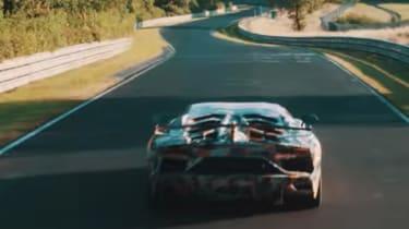 Lamborghini Aventador SV Jota - rear