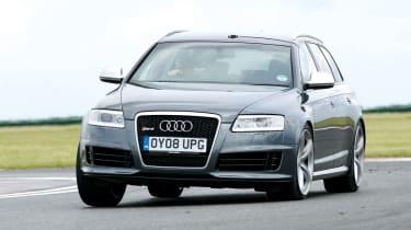 Audi RS6 avant cornering